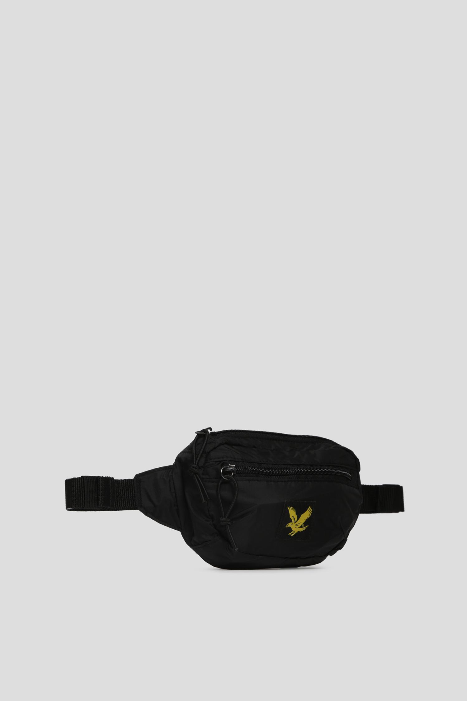 Мужская черная поясная сумка Lyle & Scott