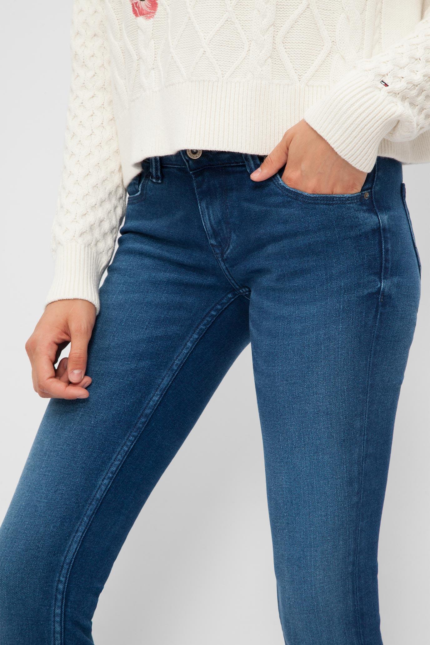 Купить Женские синие джинсы Tommy Hilfiger Tommy Hilfiger DW0DW02412 –  Киев e0ea176de4901