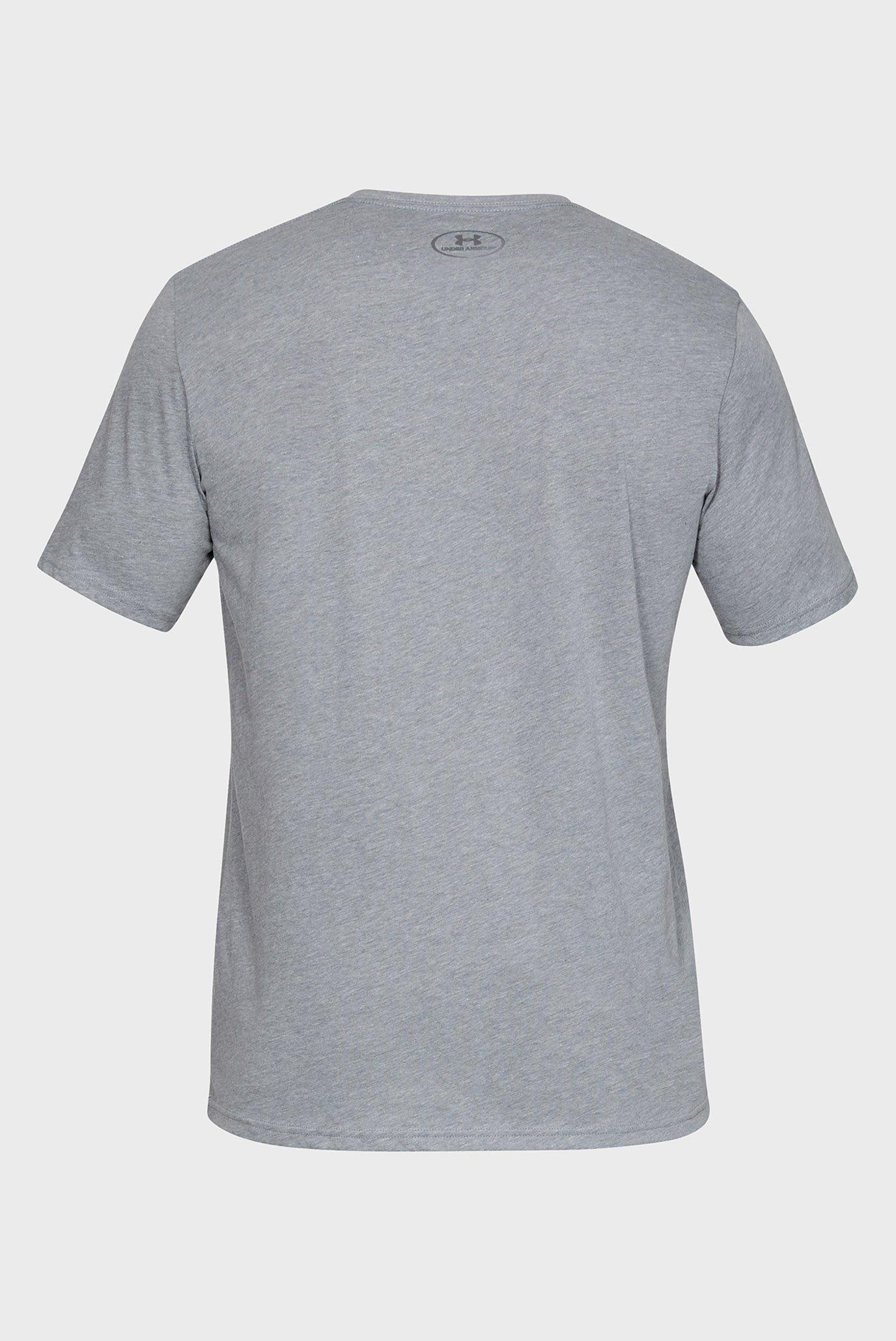 Мужская серая футболка UA TEAM ISSUE WORDMARK SS Under Armour