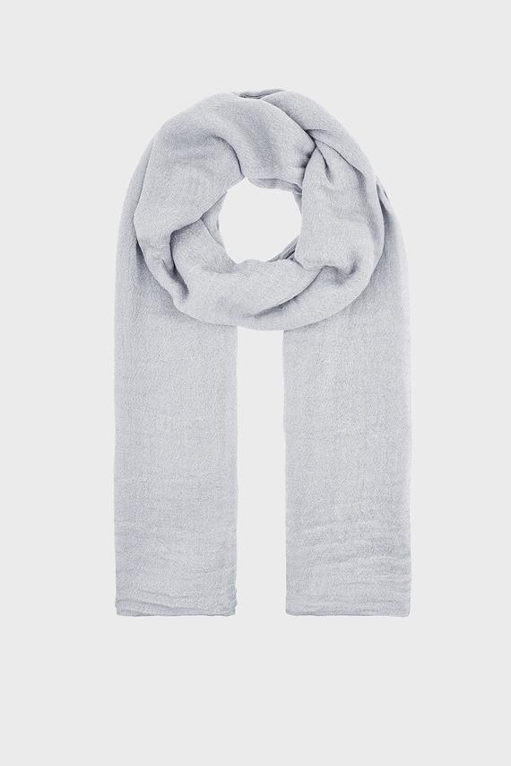 Женский серебристый шарф ALL OVER METALLIC ST