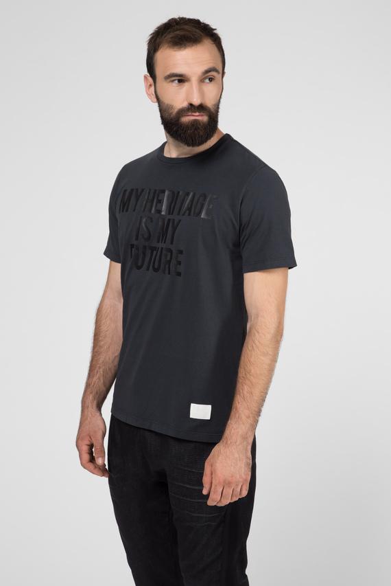 Мужская темно-серый футболка