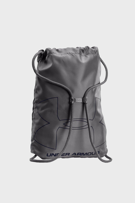 Синий рюкзак с принтом UA Ozsee Sackpack