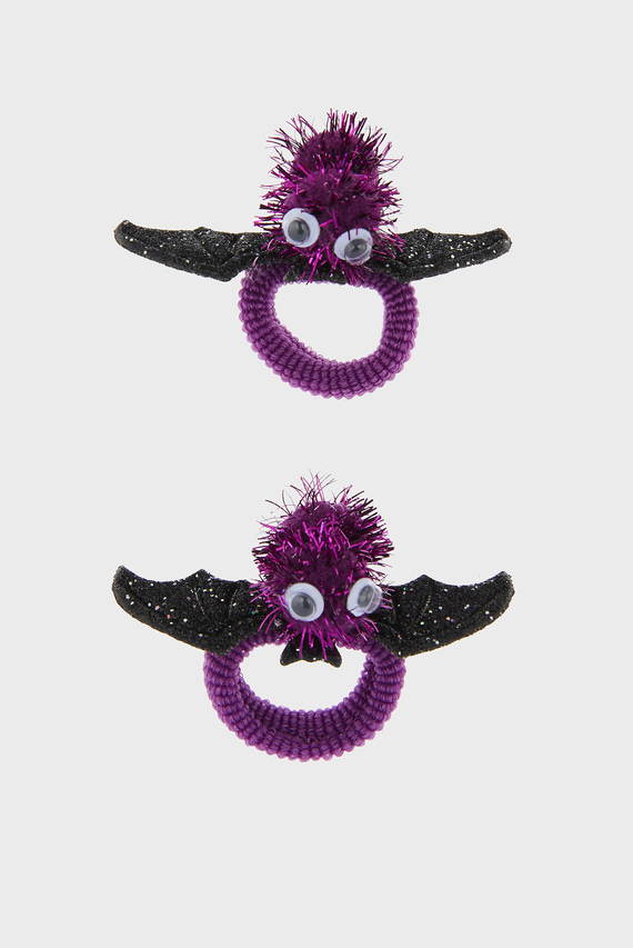 Набор детских резинок для волос BAT BOBBLE (2 шт)
