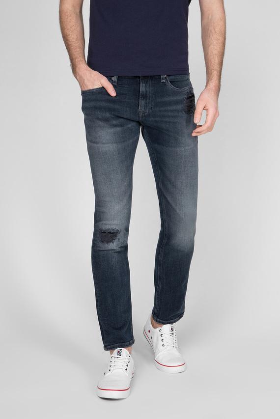 Мужские темно-синие джинсы SCANTON SLIM