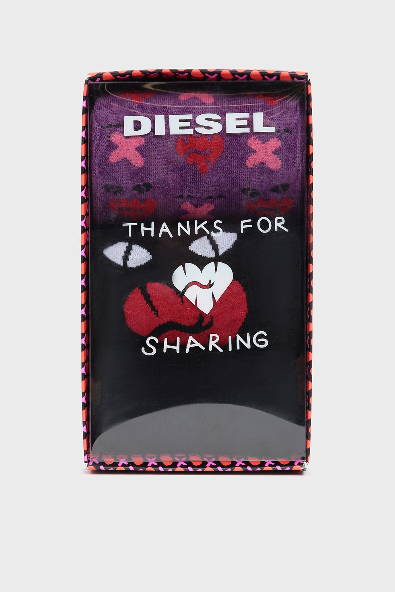 Мужские хлопковые носки SKM-HERMINE (3 пары) Diesel
