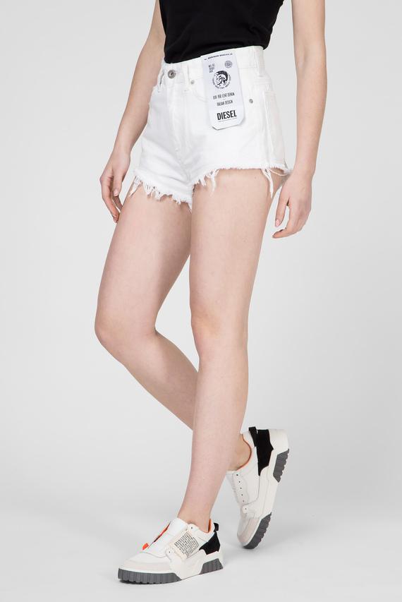 Женские белые джинсовые шорты DE-HIGWY