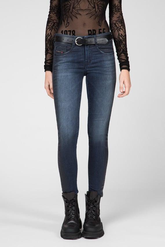 Женские темно-синие джинсы D-OLLIES-NE