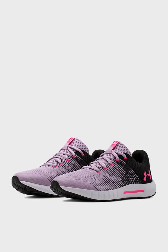 Детские фиолетовые кроссовки UA GGS Pursuit NG
