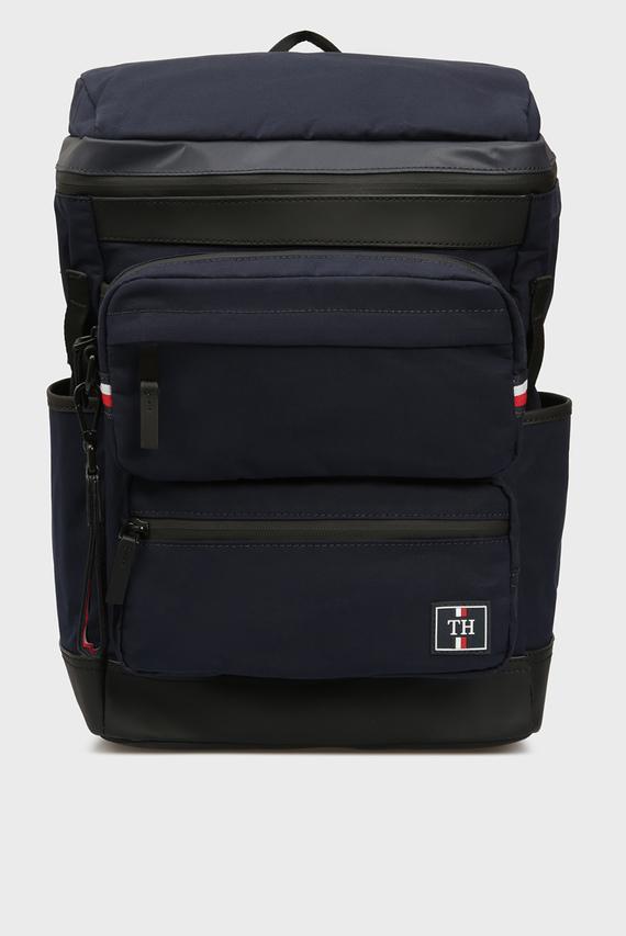 Мужской темно-синий рюкзак NAUTICAL CANVAS 3 IN 1