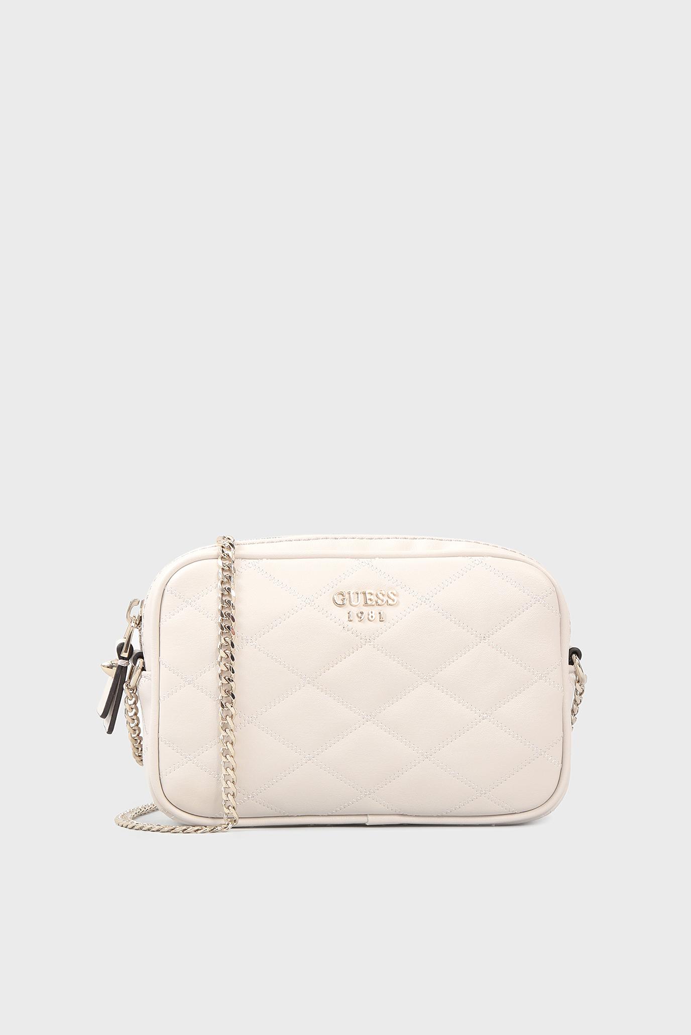 6f1c4f3eed85 Купить Женская бежевая сумка через плечо Guess Guess HWVG6963700 – Киев,  Украина. Цены в интернет магазине MD Fashion