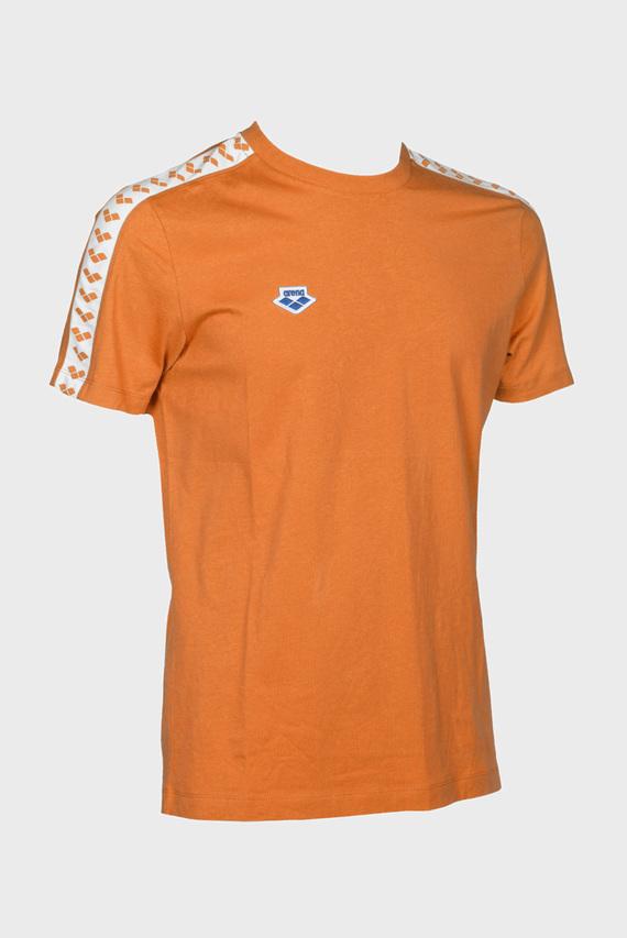 Мужская оранжевая футболка TEAM