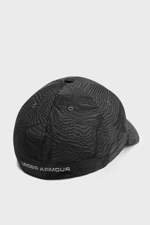 Мужская темно-серая кепка UA Printed Blitzing 3.0