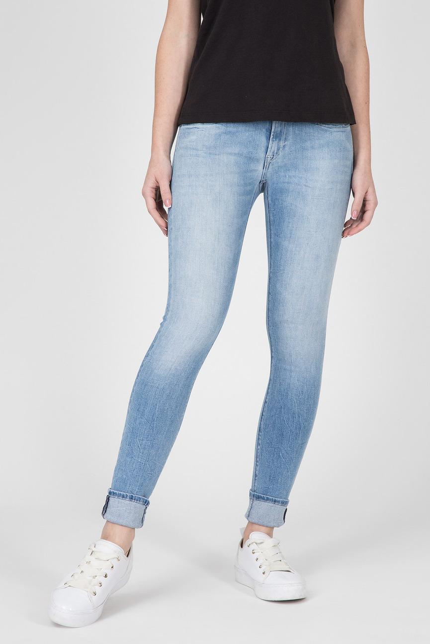 Женские голубые джинсы LUZ