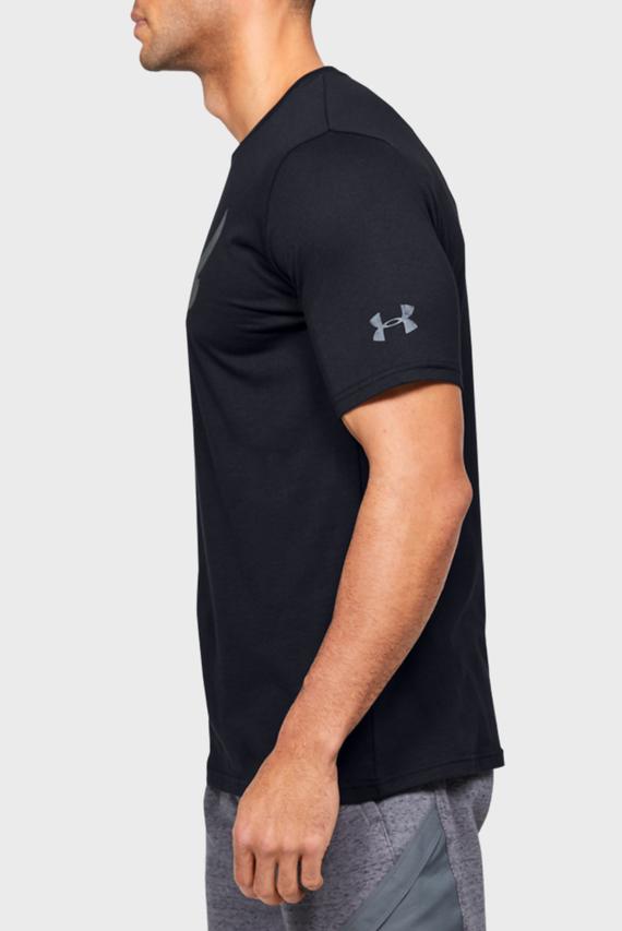Мужская черная спортивная футболка Project Rock Brahma Bull SS