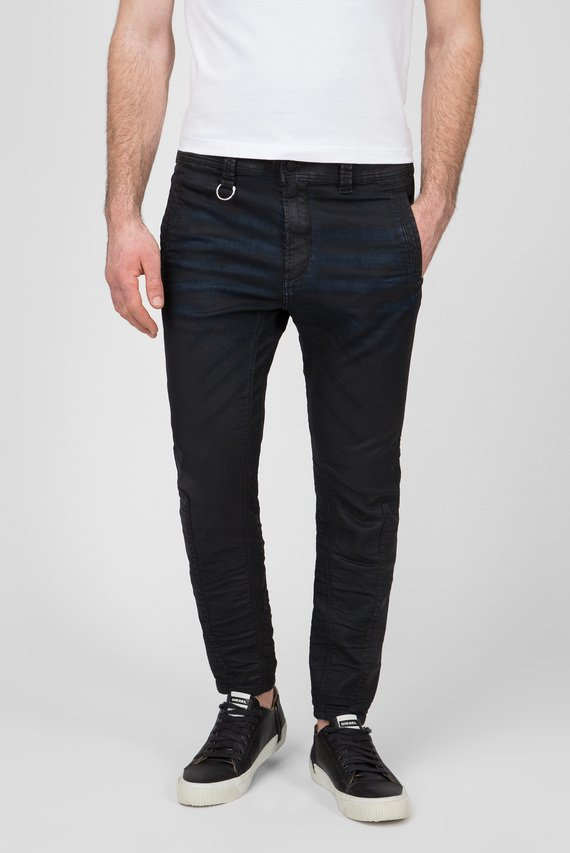 Мужские черные джинсы D-EARBY-NE Sweat Jeans