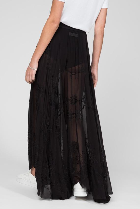 Женская черная юбка O-VIVIEN