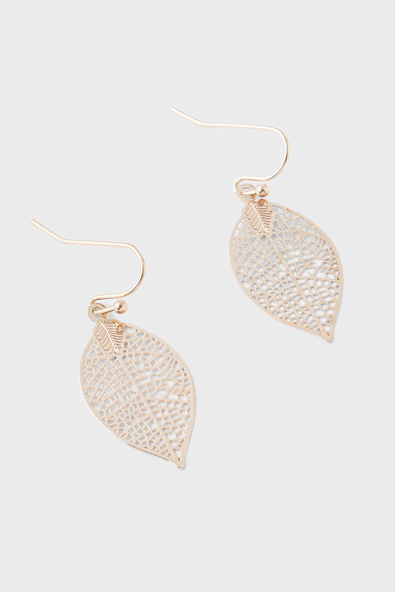 Жіночі золотистий сережки FILI LEAF DROP 1