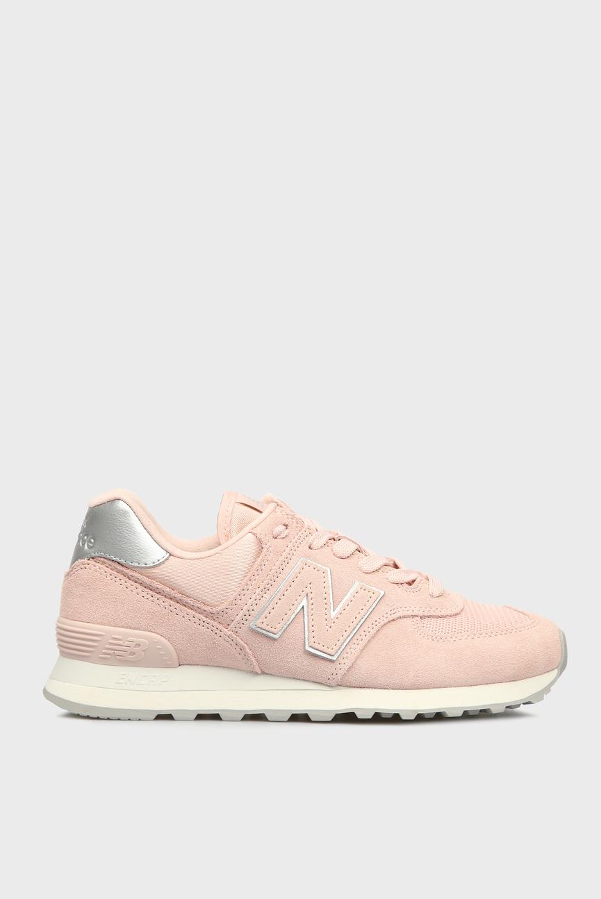 Женские розовые кроссовки 574
