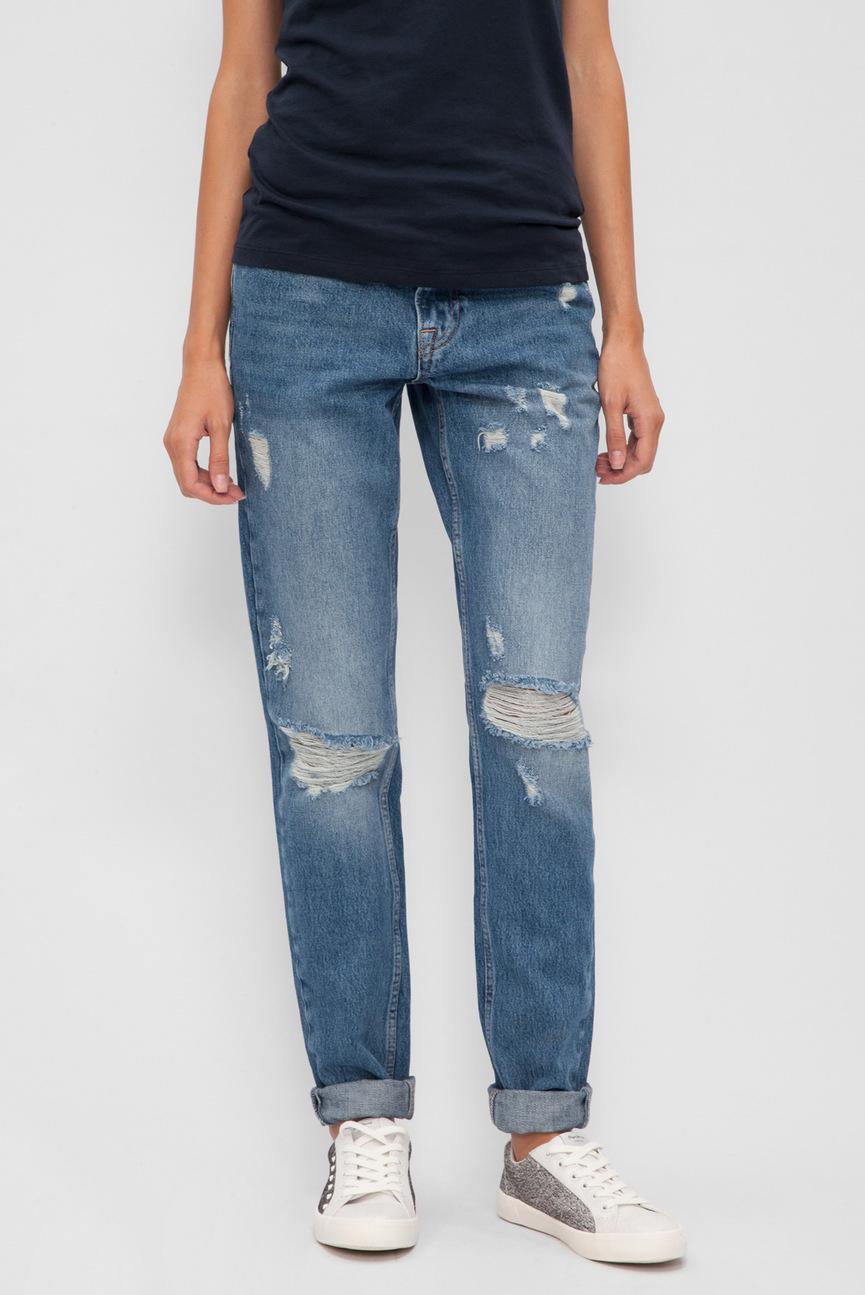 Женские синие джинсы THROWBACK