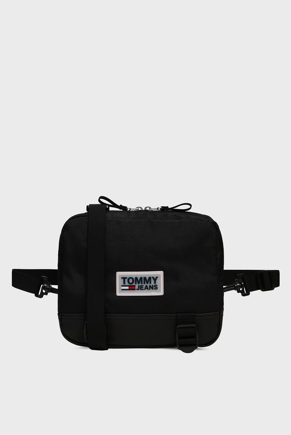 Мужская черная сумка TJM URBAN VARSITY