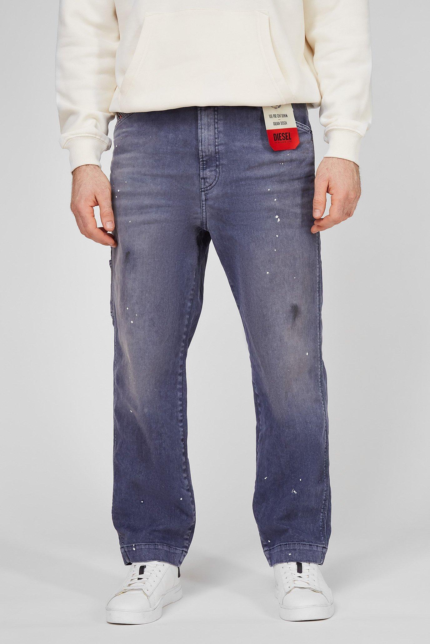 Мужские синие джинсы D-FRANKY-SP1 L.32 TROUSERS 1