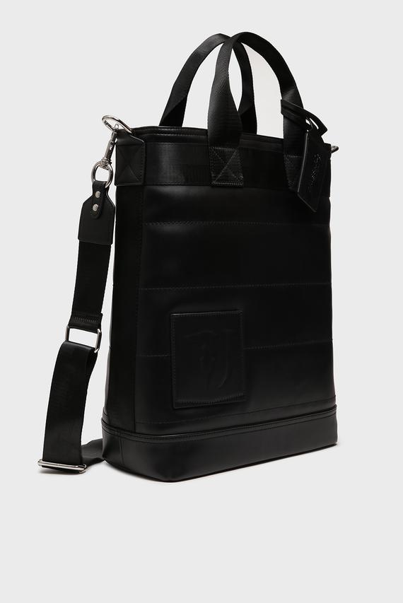 Мужская черная сумка TICI