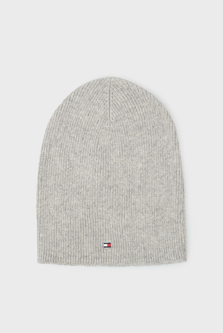 Женская серая шапка SOFT KNIT