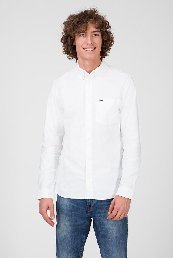 Мужская белая рубашка TJM CLASSICS OXFORD