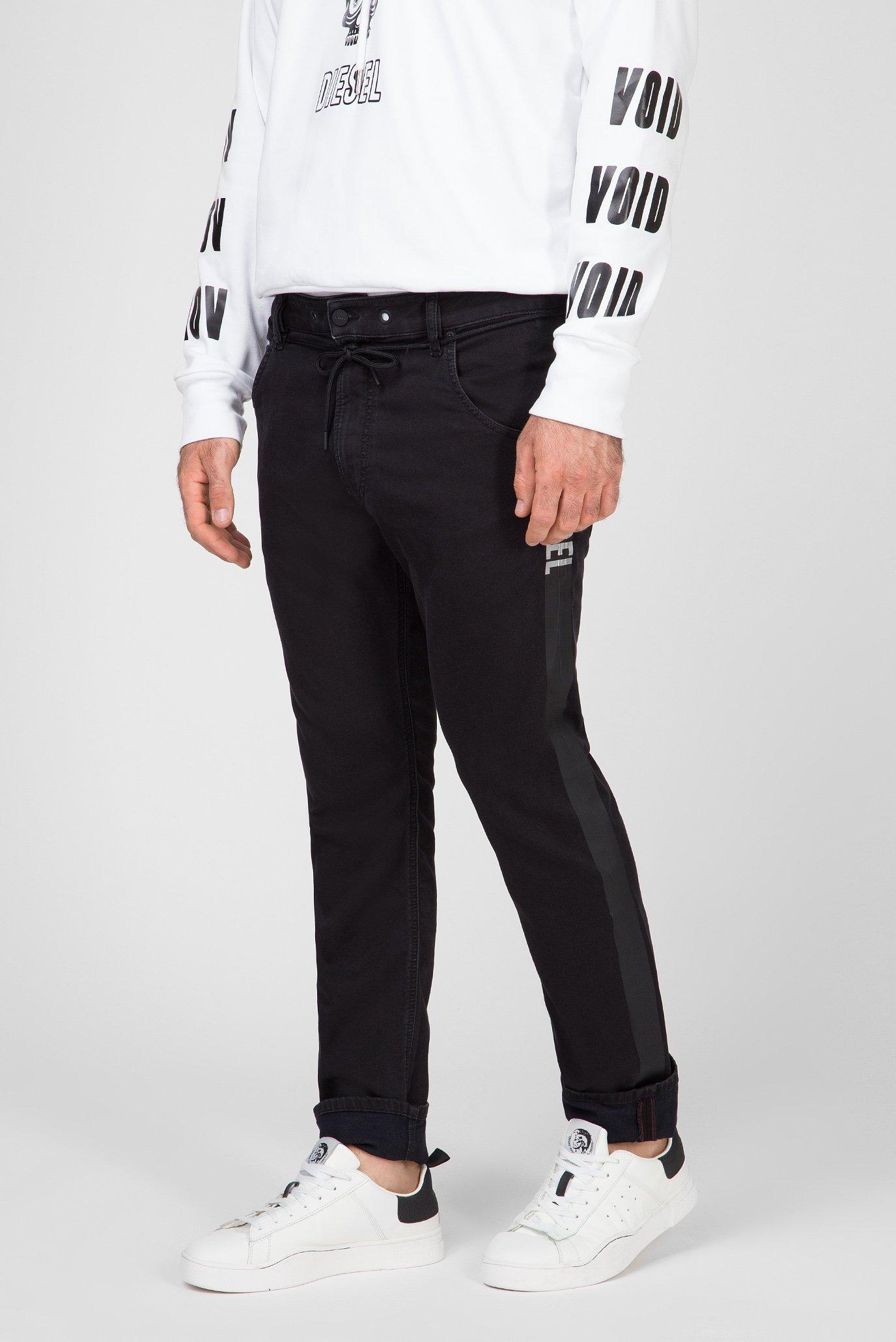 Мужские черные джинсы KROOLEY-X-SP1-NE Diesel