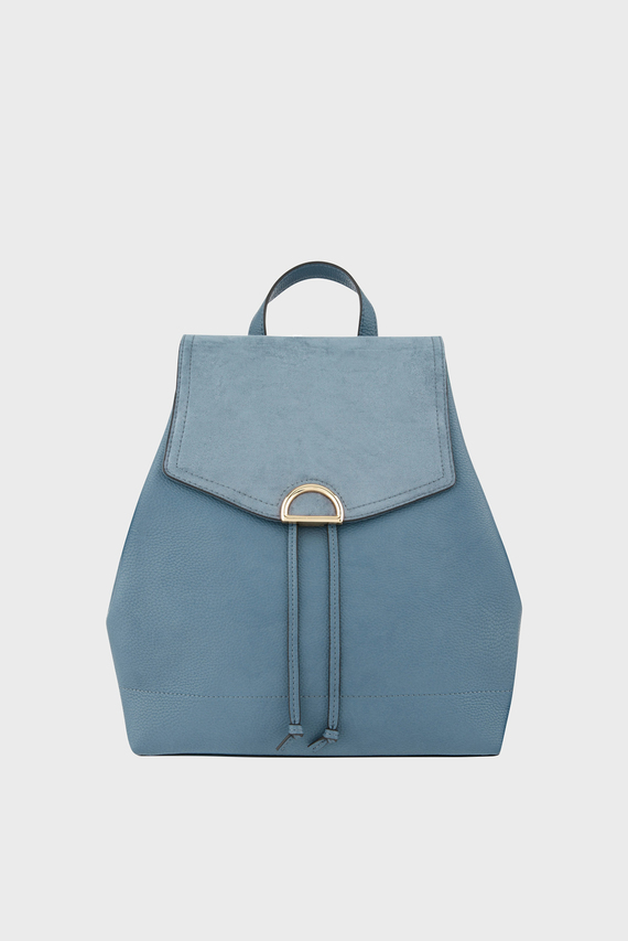Женский голубой рюкзак KIMMI BACKPACK