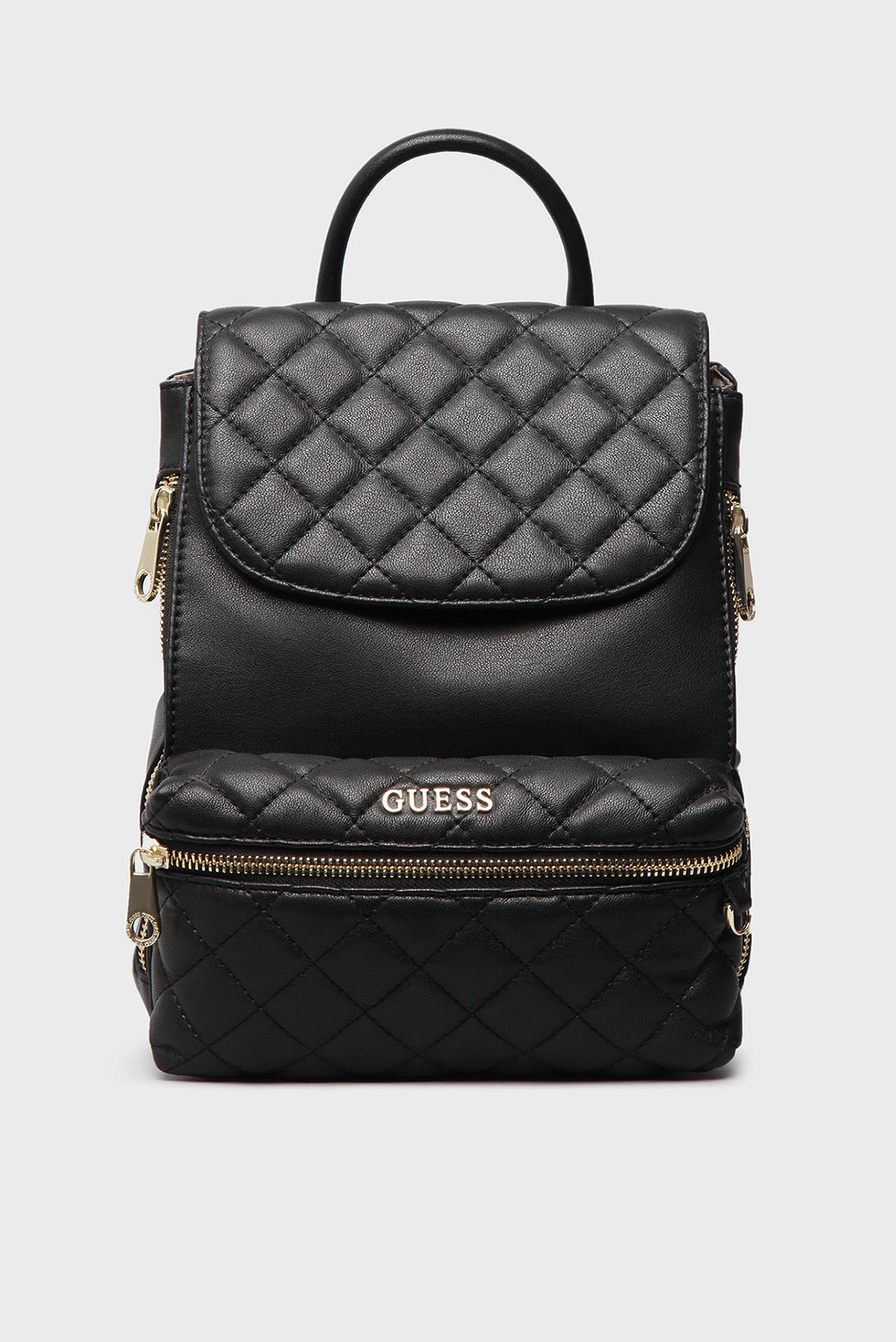 Купить Женский черный рюкзак Guess Guess HWALAQP7144 – Киев b37e6917a6a26