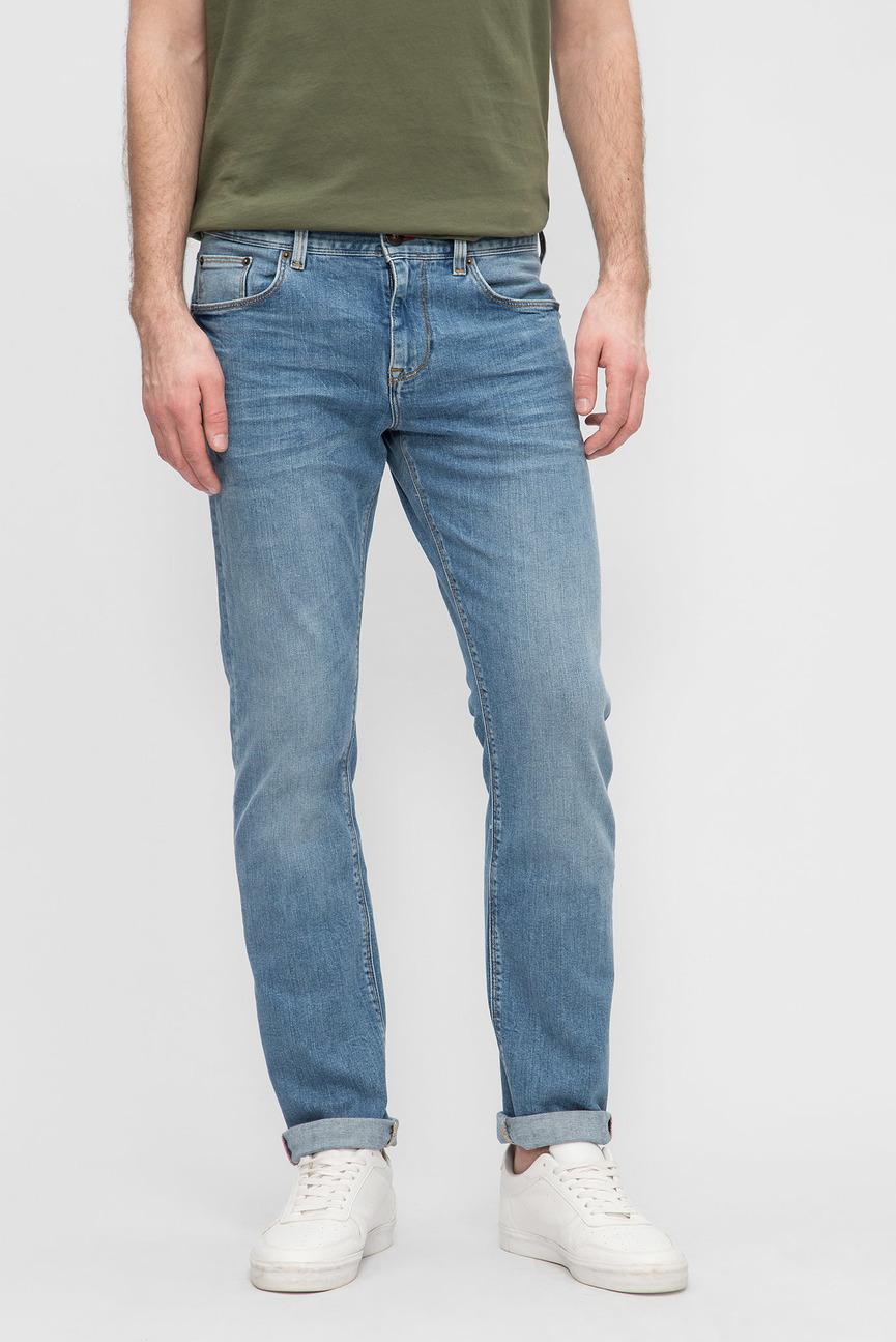 Мужские синие джинсы BLEECKER