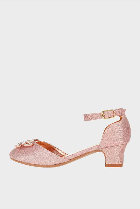 Детские золотистые туфли MADELINE SHOE