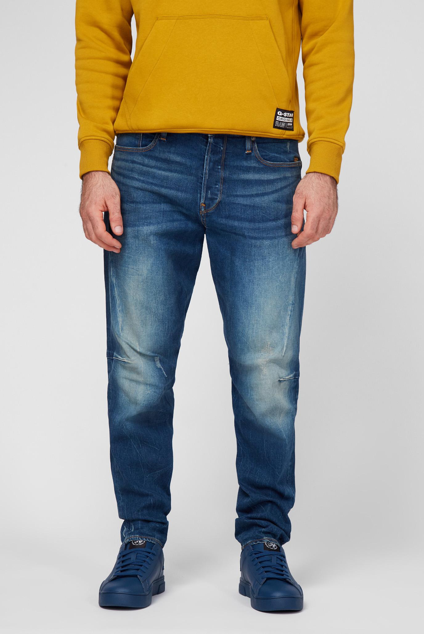 Мужские голубые джинсы Scutar 3D Slim Tapered 1