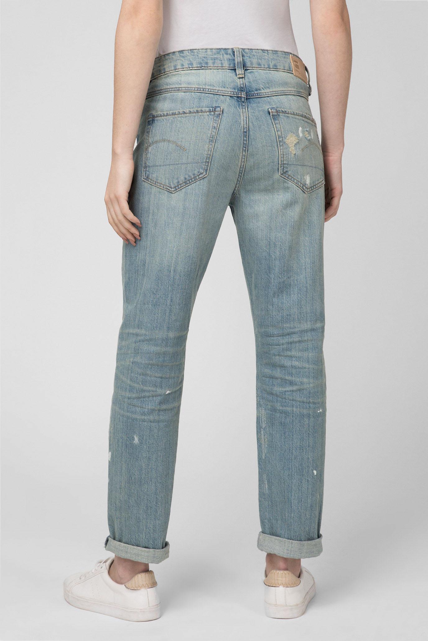 Купить Женские голубые джинсы 3301 Mid Boyfriend G-Star RAW G-Star RAW D10399,8595 – Киев, Украина. Цены в интернет магазине MD Fashion