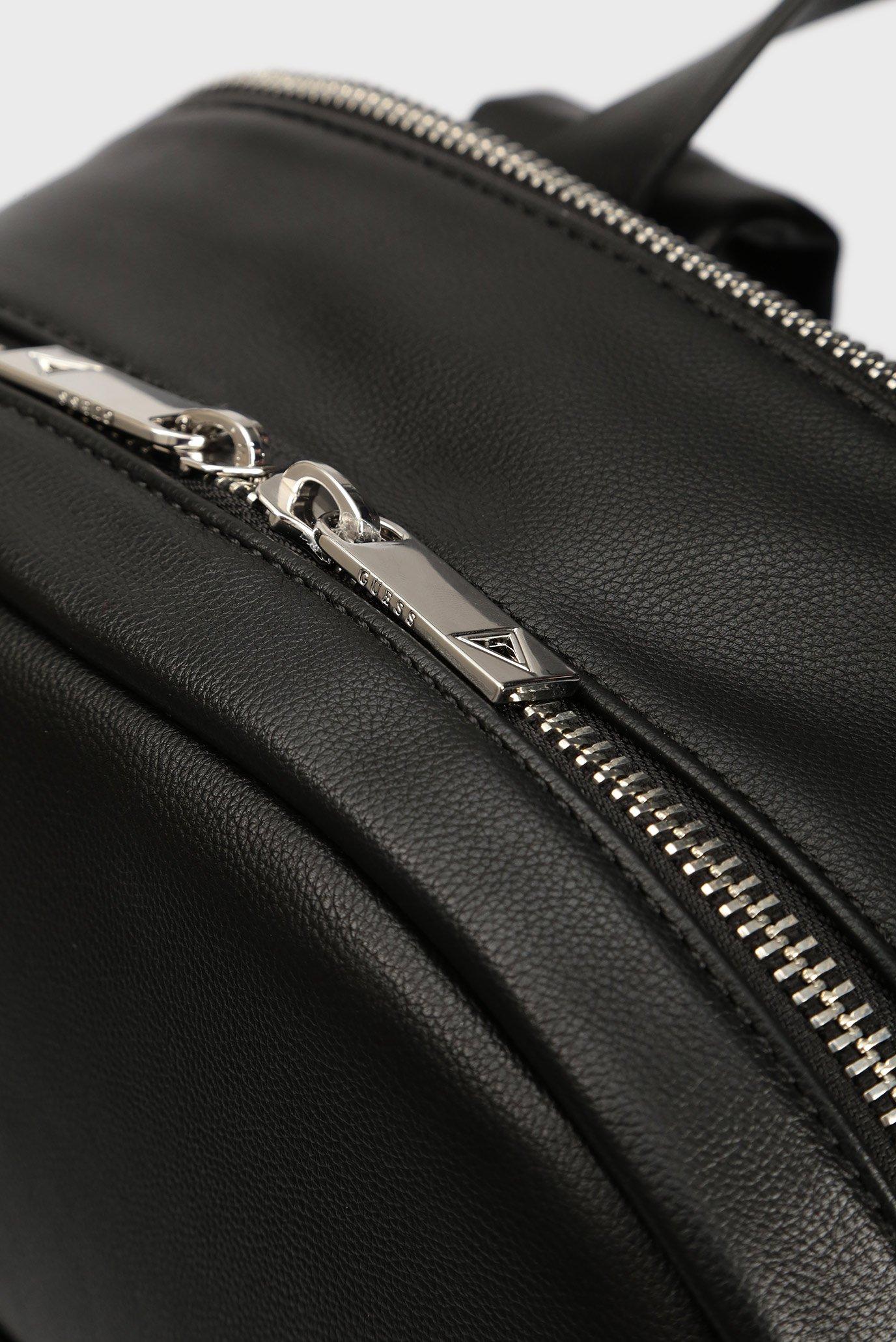 Мужской черный рюкзак DAN Guess