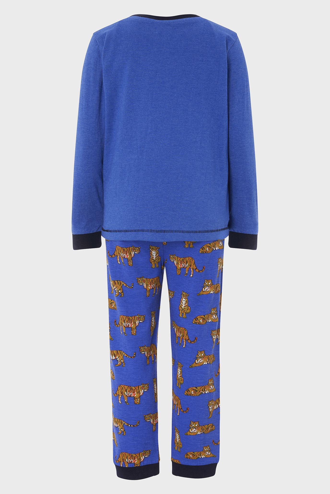 Купить Детская синяя пижама Timothy Tiger (лонгслив, брюки) Monsoon Children Monsoon Children 514257 – Киев, Украина. Цены в интернет магазине MD Fashion