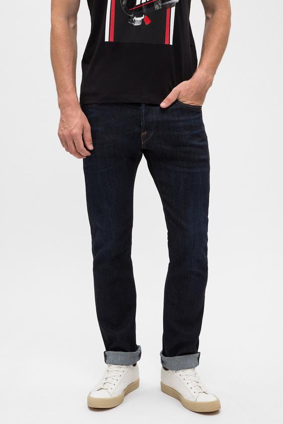 Мужские темно-синие джинсы WAITOM