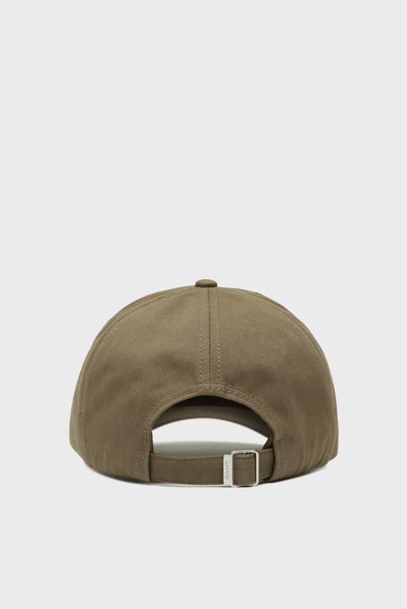 Мужская зеленая кепка GANT NEW TWILL