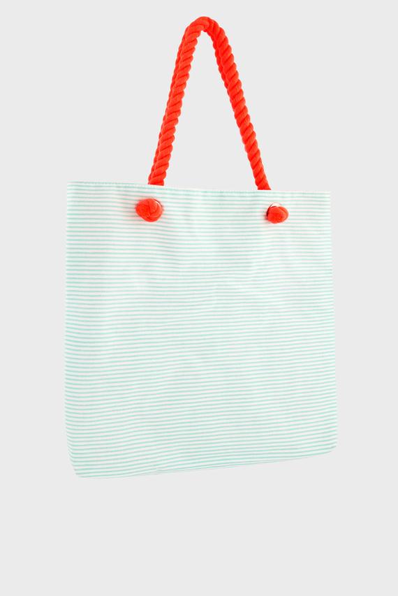 Детская сумка-шоппер FLORA FLAMINGO STRIPED