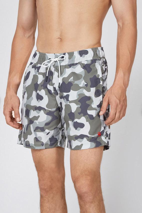 Мужские камуфляжные плавательные шорты Dirik side panel