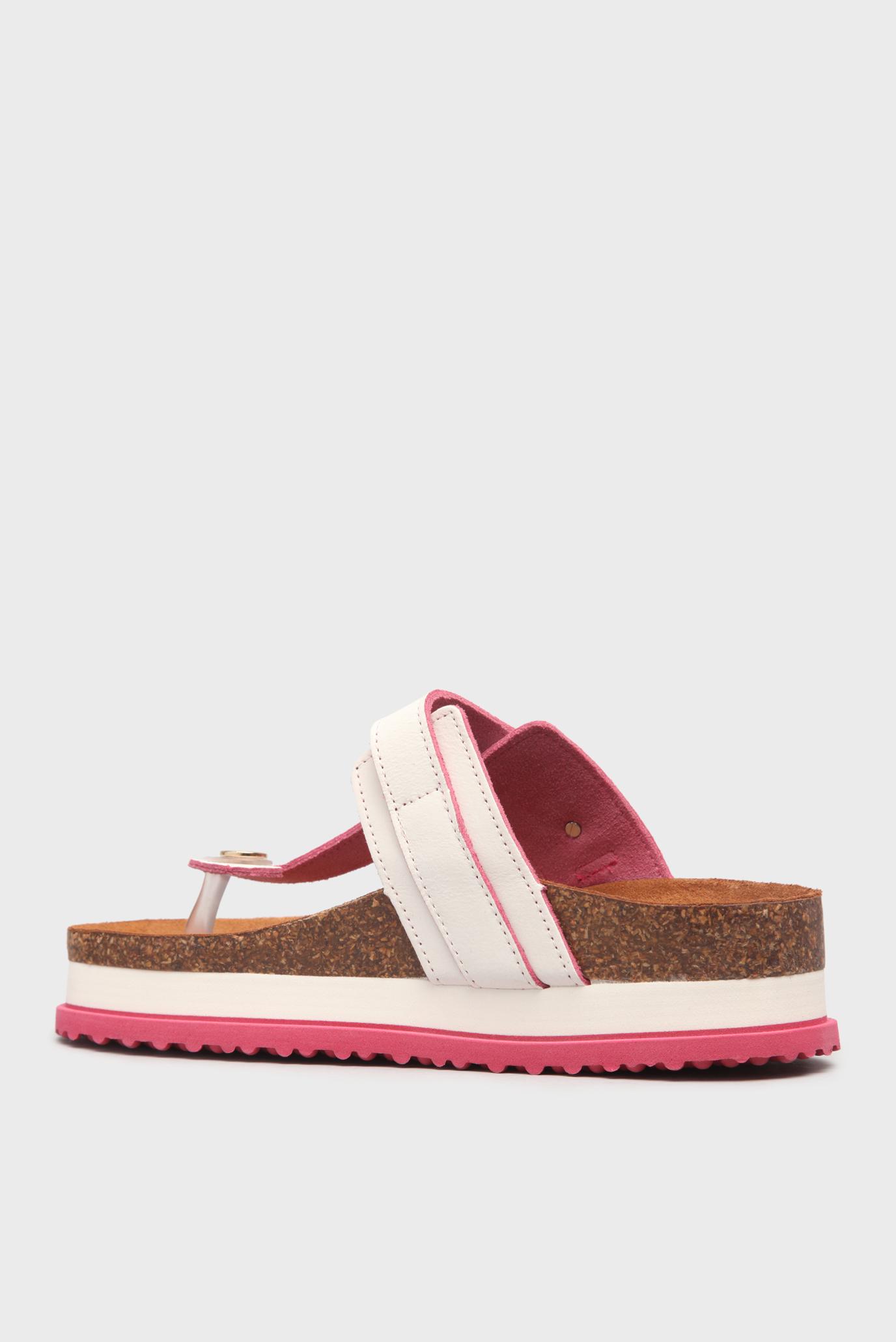 Купить Женские белые сандалии с розовой подошвой Fornarina Fornarina PE17RZ1013C0 – Киев, Украина. Цены в интернет магазине MD Fashion