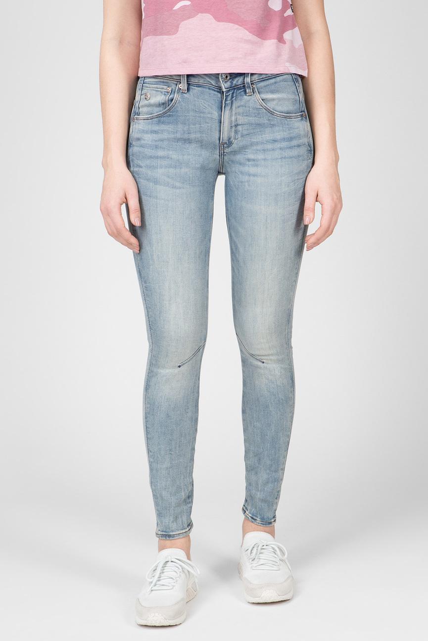 Женские голубые джинсы Arc 3D Mid Skinny