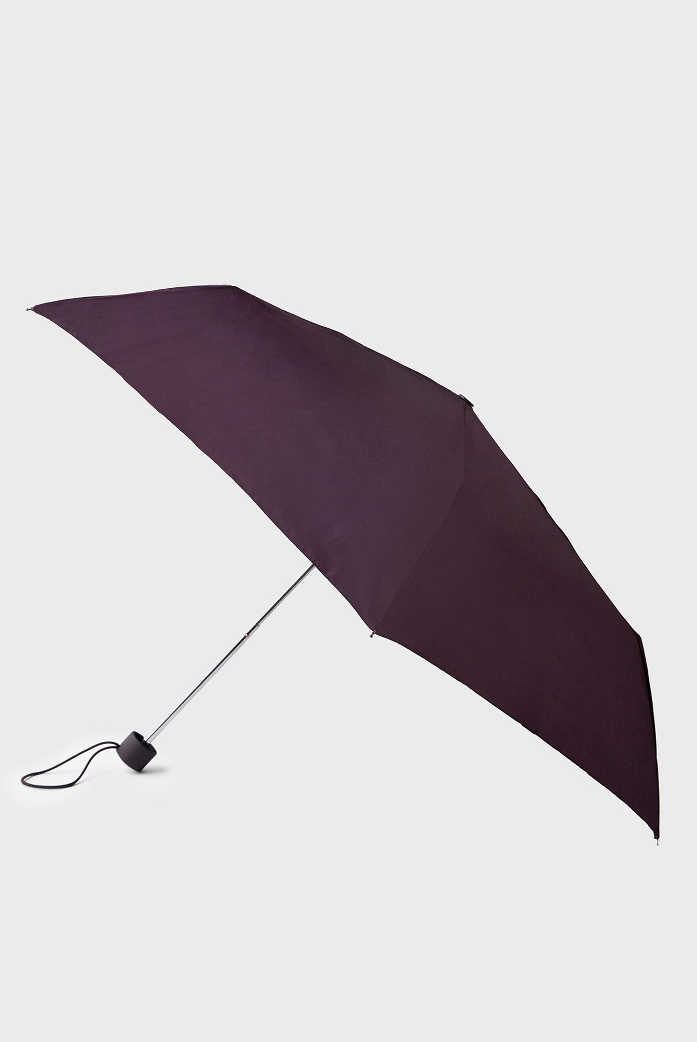 Женский бордовый зонт PLAIN COLOUR UMBRELL 1