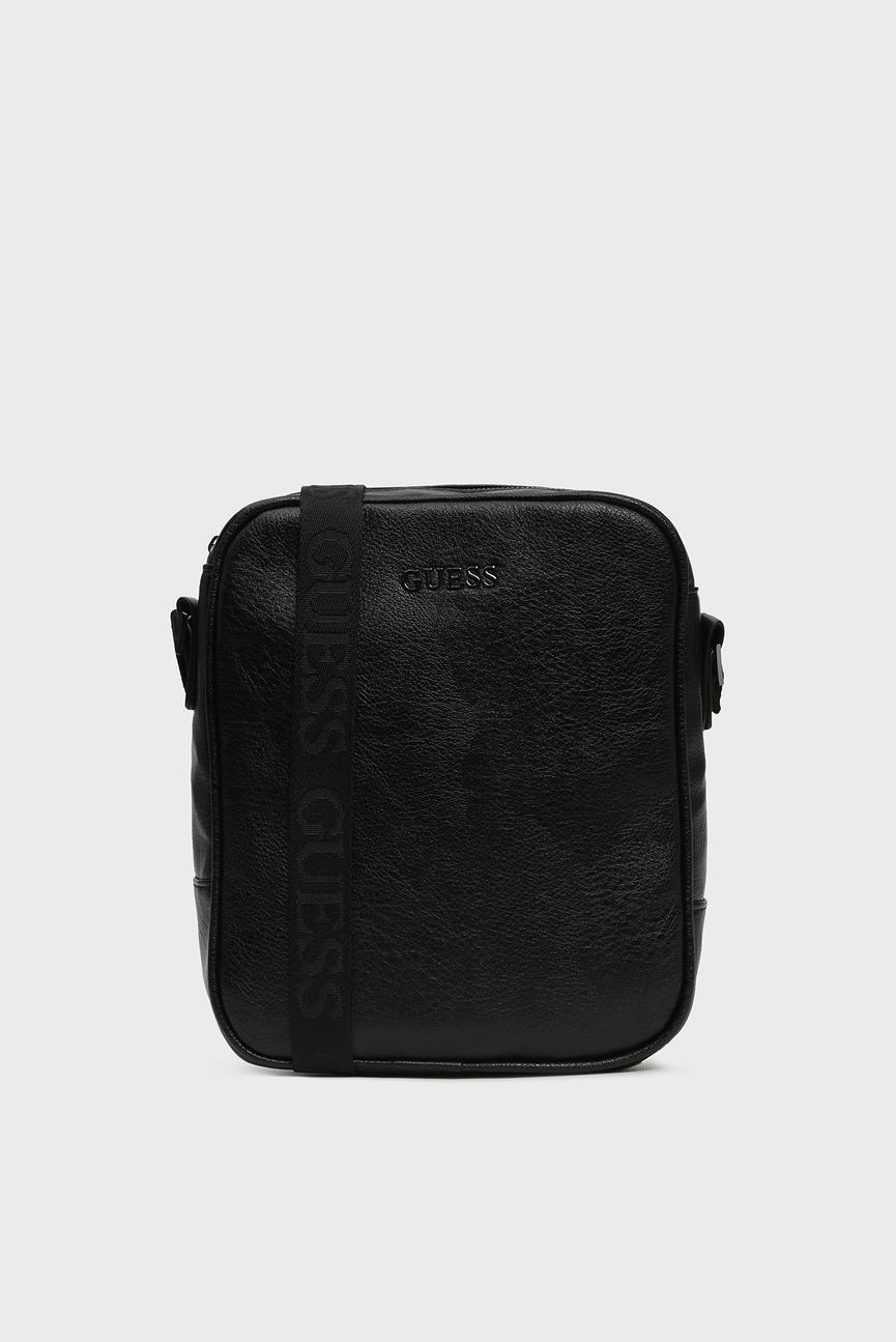 Мужская черная сумка через плечо CITY TOP ZIP CROSSBODY