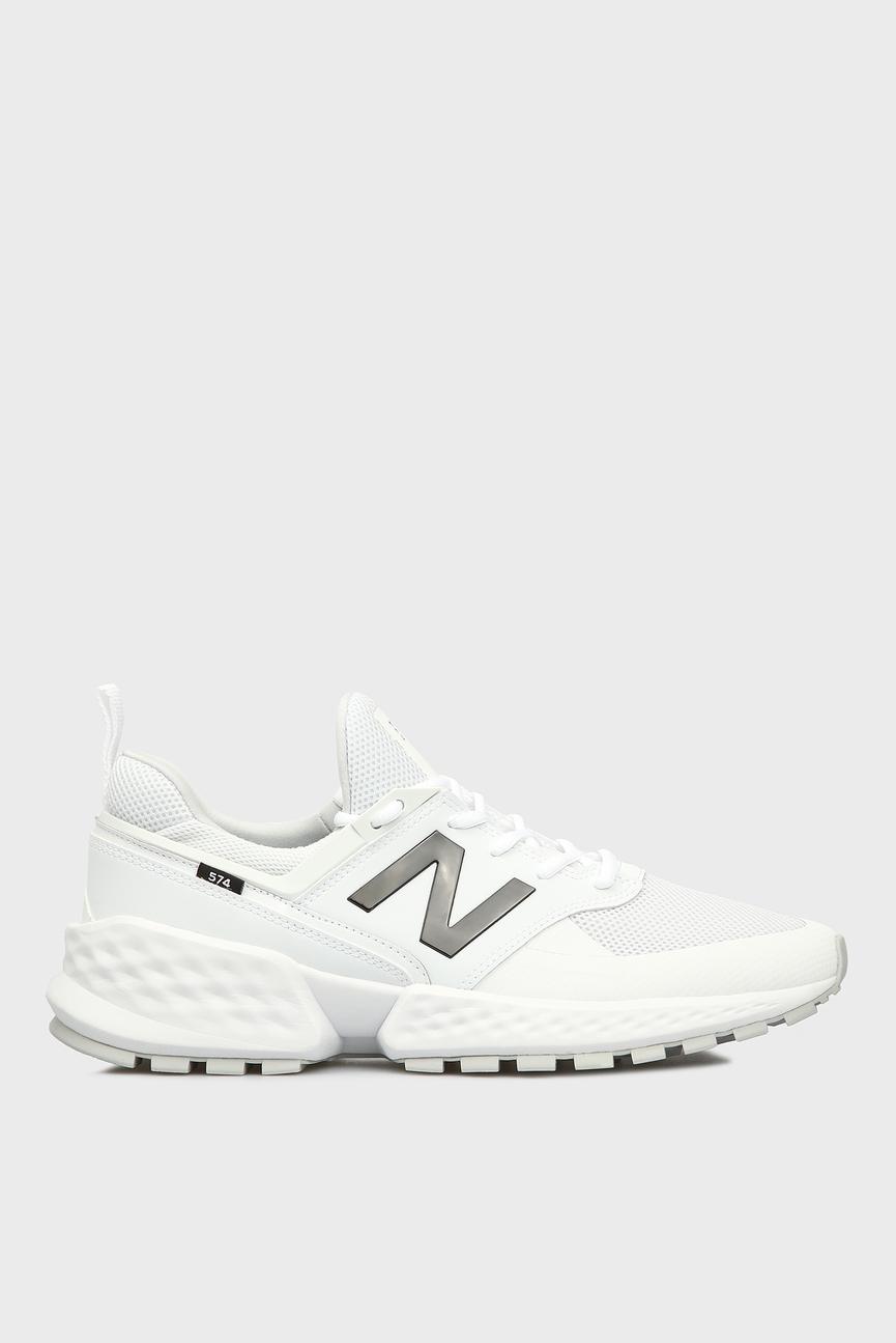 Мужские белые кроссовки 574S