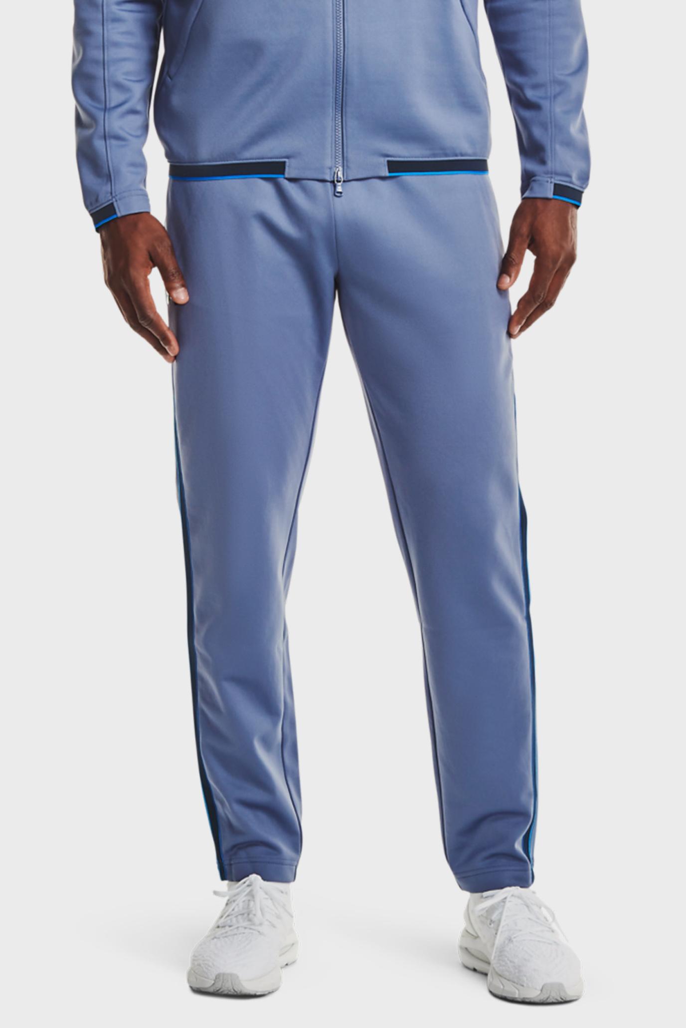 Чоловічі сині спортивні штани UA Recover Knit Track Pant 1