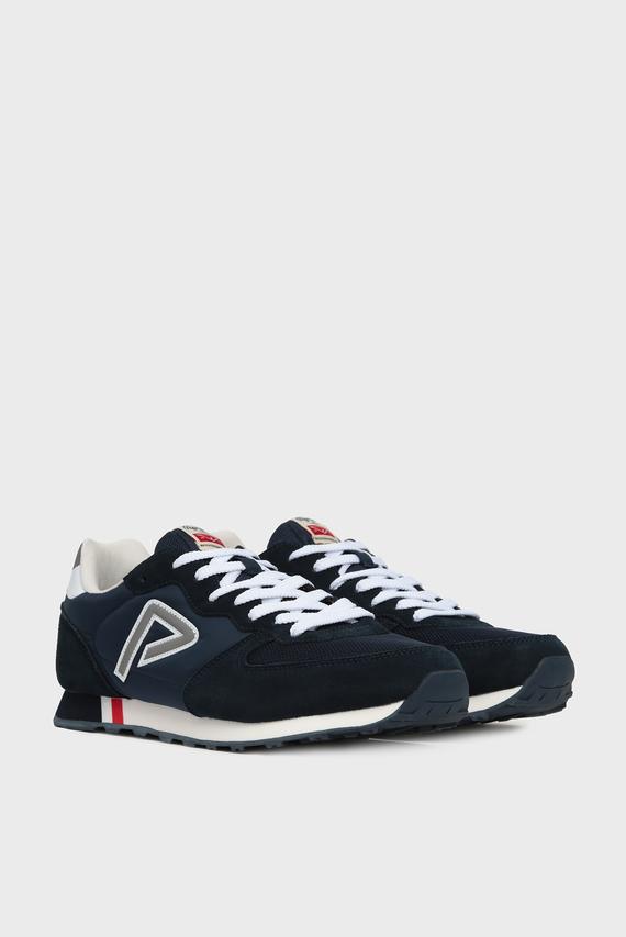 Мужские темно-синие замшевые кроссовки KLEIN ARCHIVE