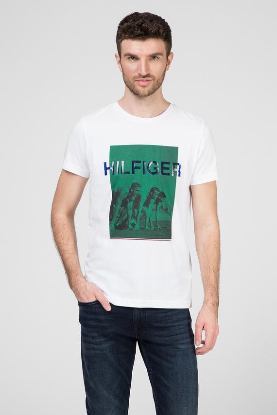 Мужская белая футболка ROWERS