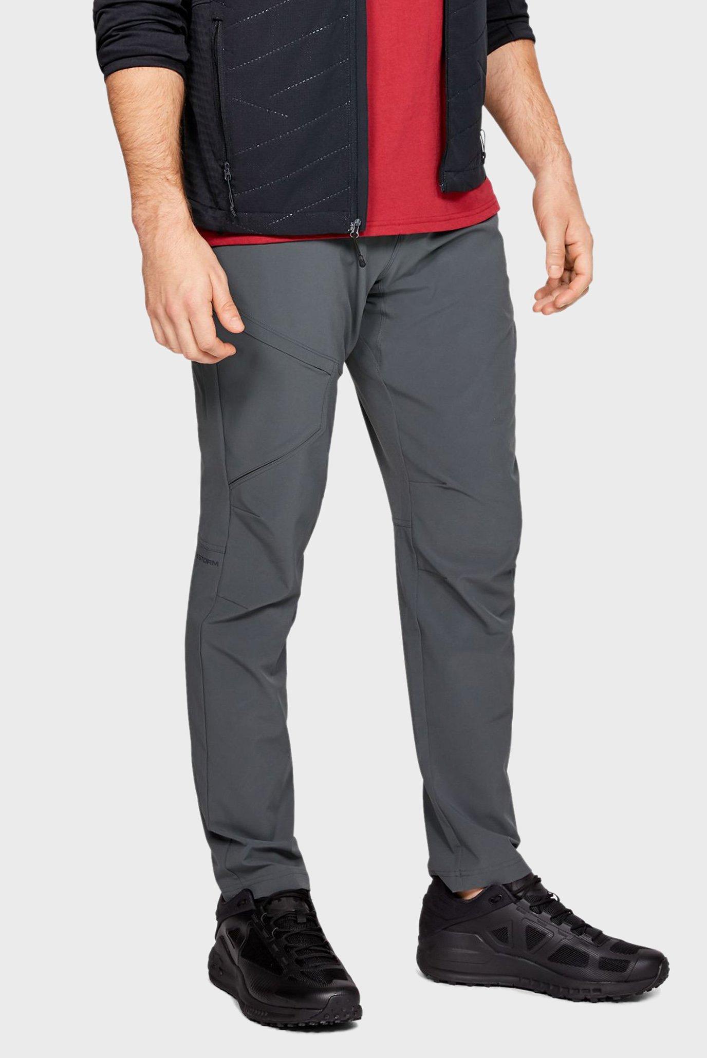 Чоловічі сірі спортивні штани UA Fusion 1